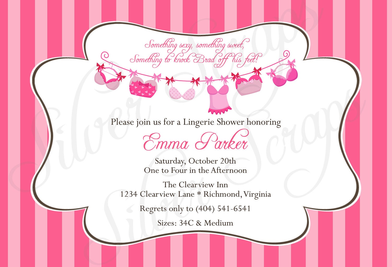 Homemade Bridal Shower Invitations is awesome invitation design