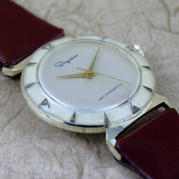 Ingraham Wrist Watch - Manual Wind Movement - Circa 1960's - Swiss Made
