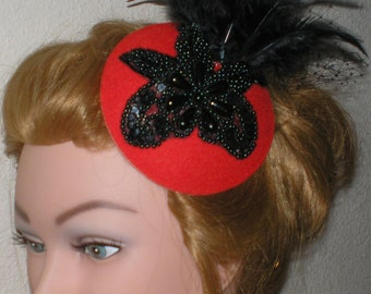 Hair Accessories, Hair Fascinator, Hat, Party Hat, Bridal Hair Accessories, Gothic Bridal Accessories