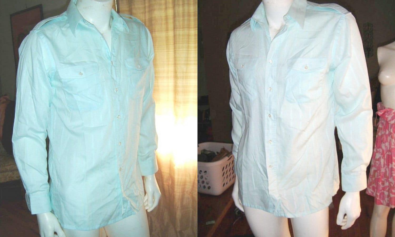 Vintage christian dior shirt button up pastel by for Christian dior button up shirt