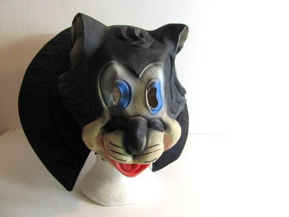 Vintage Felix the Cat Mask for Halloween