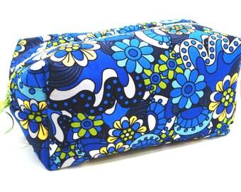 Duffle Bag - Boxey Bag - Dopp Kit - Quilted Bag - Toiletry Bag - Cosmetic Bag - Makeup Bag