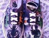 CALL OF DUTY - Custom Hand Painted Gamer Shoes - Ultimate Fan Must Haves - Shoes Not Included