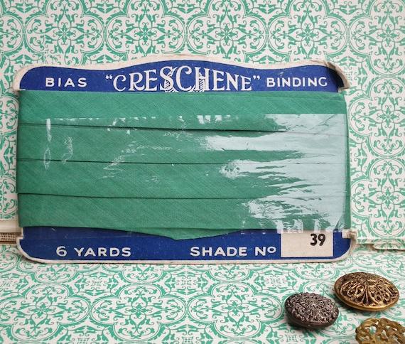 Vintage Antique Bias Binding Tape 1910s 1920s - antique sewing supplies - original packaging