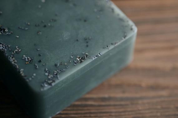 Woodland Soap, Moss, Evergreens, Galbanum, Handmade Glycerin Soap