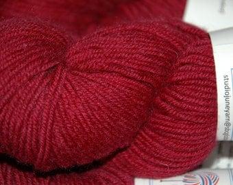 Studio June Yarn MCN Light Worsted - Deep Garnet Red