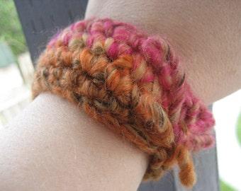 Multicolor Crocheted Wrist Cuff WCU/4/13