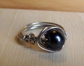 Wire Wrapped Ring Size 4