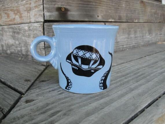 Reserved for ElfinPiper - Kraken vs. Air Ship mug