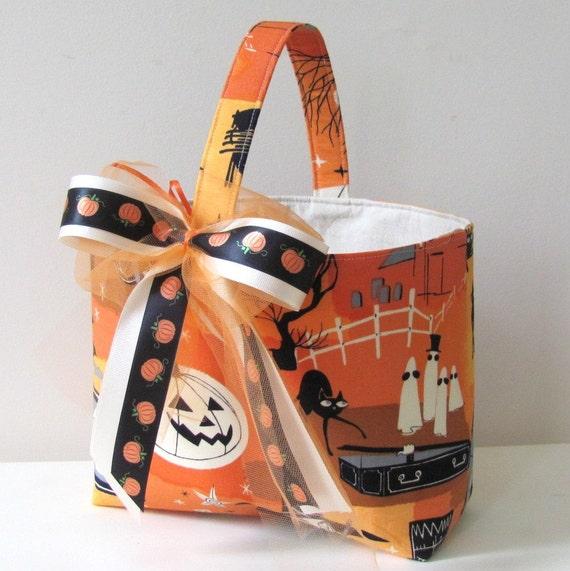 Trick or Treat Bag Halloween Basket