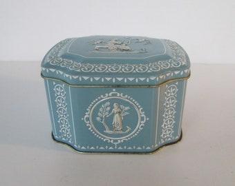 Lovely blue Tin
