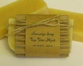 Tea Tree Mint Cold Process Soap