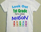 Celebrate School in a FUN way with one of our School Years Shirts. Personalized Free for your loved ones from HappyToBee