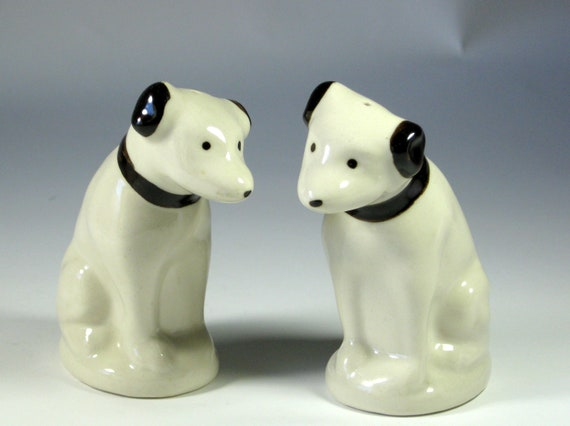 Vintage Rca Dog Salt And Pepper Shaker Set
