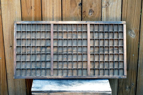 Antique Letterpress Drawer Letterpress Type Drawer