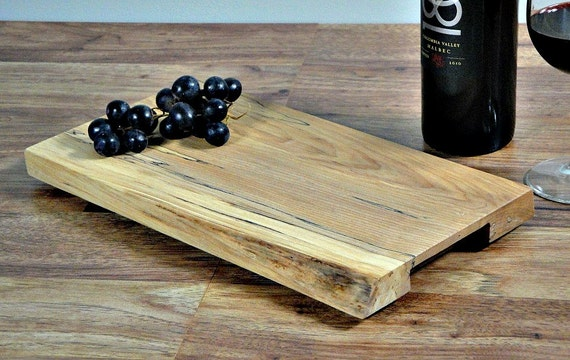 Natural Edge Maple Serving Tray
