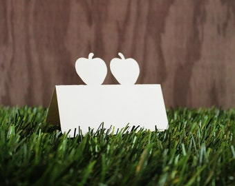 Double Apple Place Cards Set of 100 Wedding