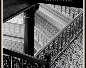 Colorado Photograph. The Escher-like Wrought Iron Brown Palace Hotel, Denver, Colorado. 8x8