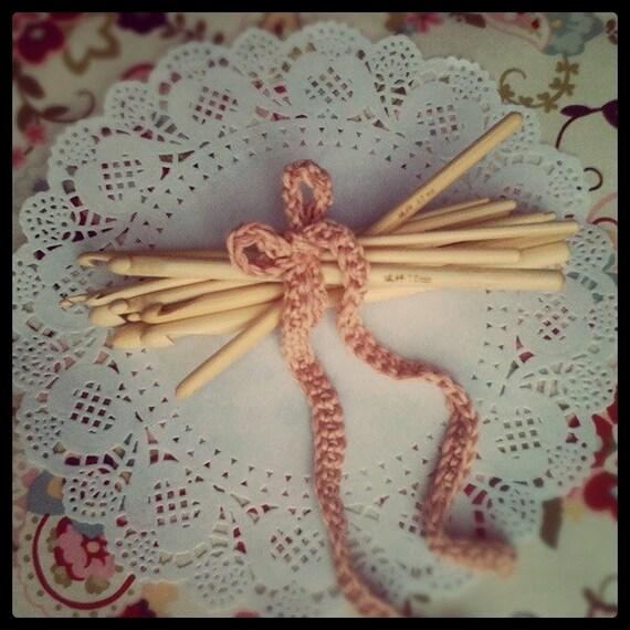 Set of 12 Bamboo Crochet Hooks