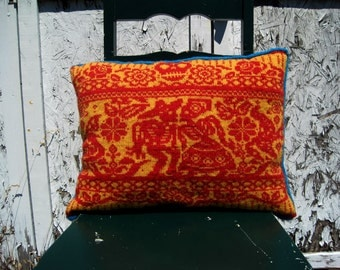 PDF Knitting Knitting Pattern- Papel Picado Fair Isle Pillow