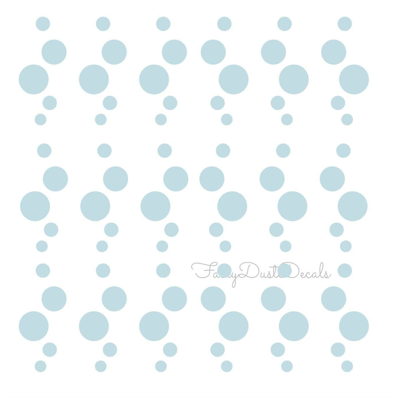 Bubbles Wall Decals Bubble Vinyl Stickers Water Bubbles