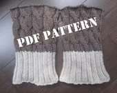 PATTERN - 2 in 1 Boot Toppers - Knitted - DIY