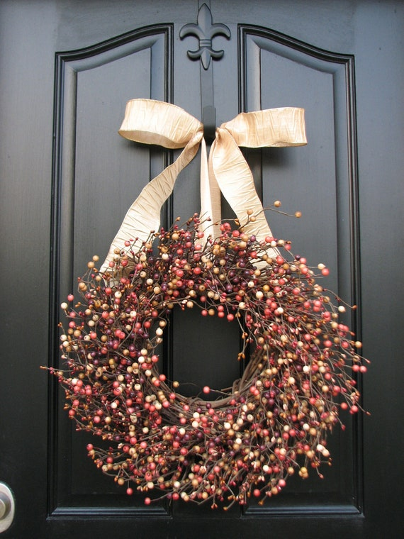 Items Similar To Wreath For January Berry Wreath Year