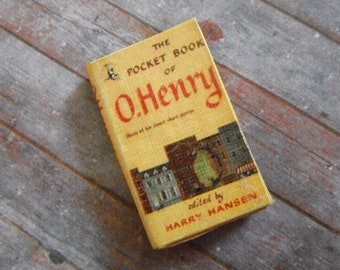 Miniature Book --- O. Henry Stories
