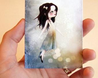 Surrender ACEO/ATC Premium Fine Art Mini Print Artist Trading Card 2.5x3.5