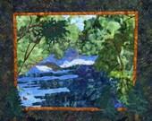 A Stroll Along the River -an original Peggy Szasz design