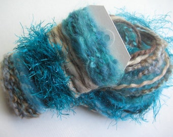 SEAS & SAND Specialty Yarn Fiber Embellishment Bundle - Altered Arts, Jewelry - 5 or more bundles for 10% discount