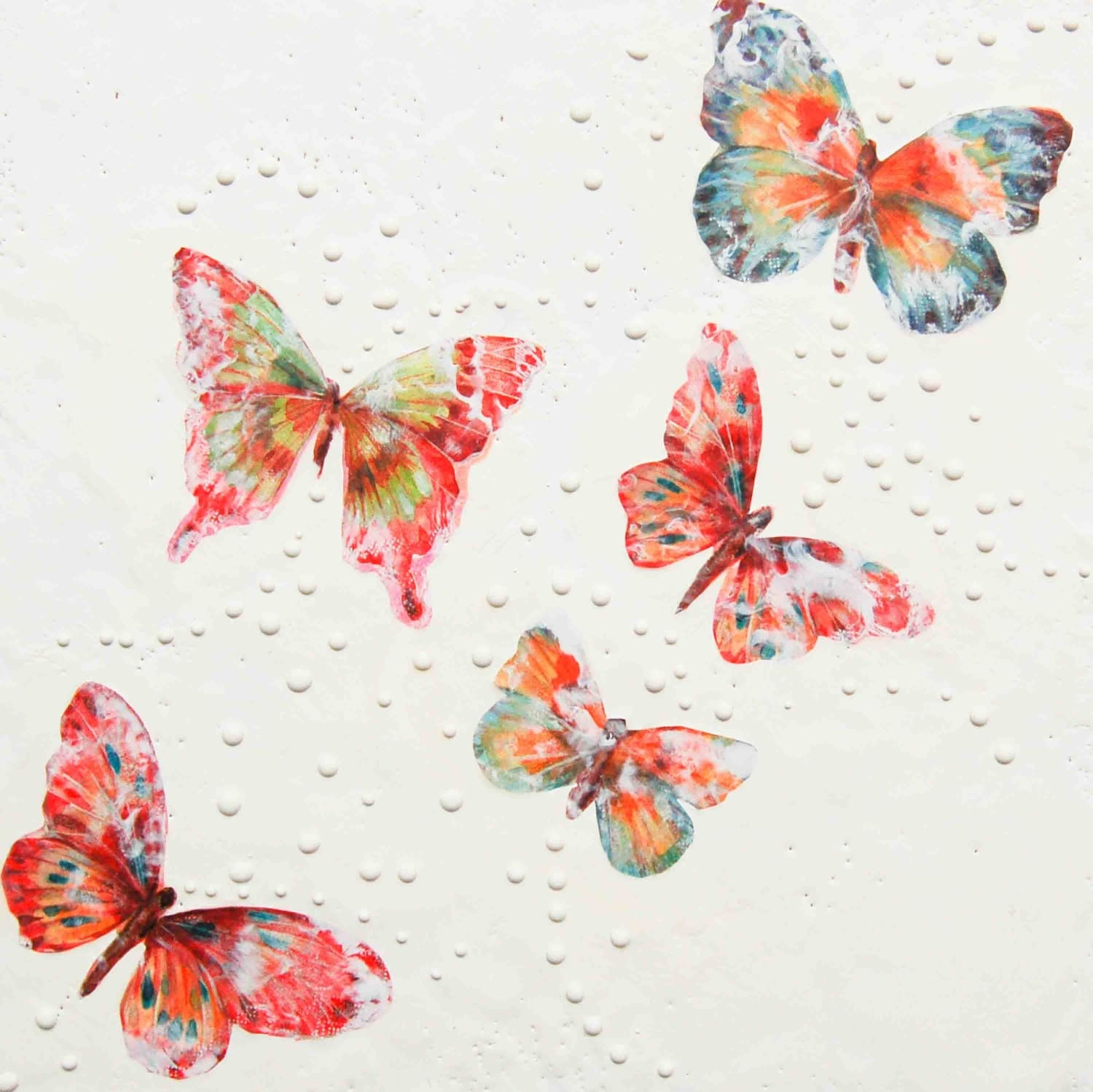 BUTTERFLY Art Print Mixed Media Art Collage by susannajarian - photo#13