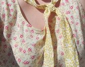 Beat the Heat Cooling Neck Tie Yellow Floral