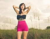 High Waisted Shorts, Hot Pants,Bloomers,Yoga Shorts