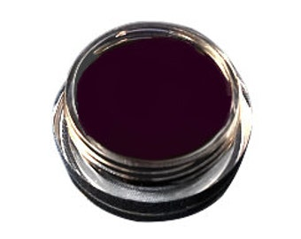 Organic Eggplant  Mineral Gel Eyeliner Pot    All Natural    Easy To Use Non-Toxic Gel Eyeliner