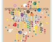 RESERVED for balette