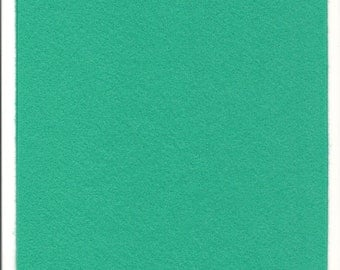 Pure Wool Felt Sheet - Mint - Half Metre / Quarter Metre - EN71