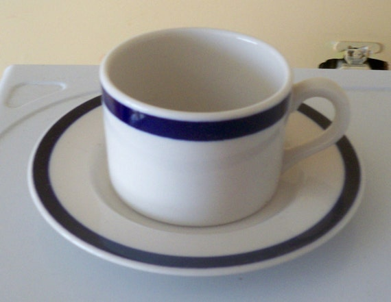 syracuse china american airlines cup saucer. Black Bedroom Furniture Sets. Home Design Ideas