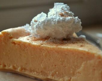 Pumpkin Cheesecake Holiday Soap - Thanksgiving - Food Soap - Bakery