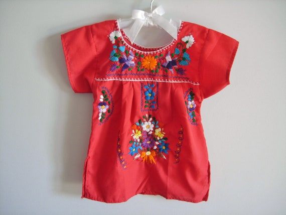 Vintage Mexican Style Tunic