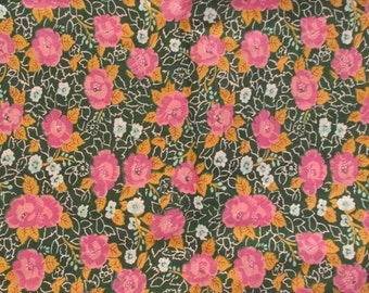 Vintage Cotton 1 1/3 yard x 44 inches wide Sale