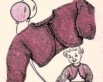 Tiny Bolero Knitting Pattern 726084