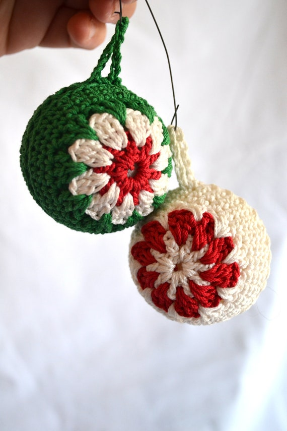 Items Similar To Vintage Crocheted Christmas Tree