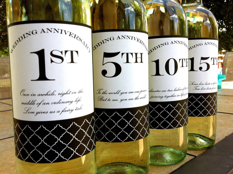 Wine Bottle Label Template Instant download diy printable