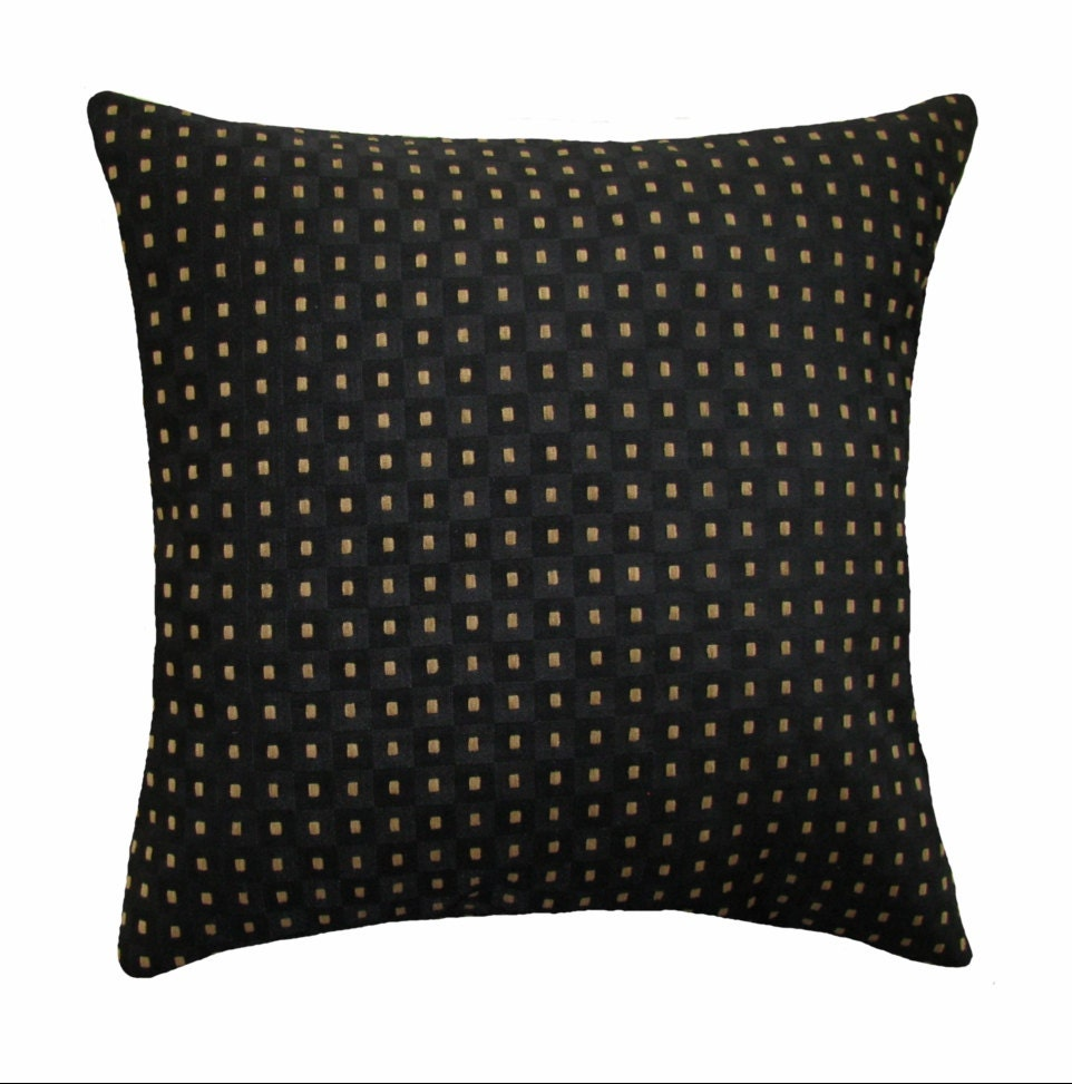 Throw Pillows In Clearance : CLEARANCE Croscill Citadel Jet Black Decorative Pillow Free
