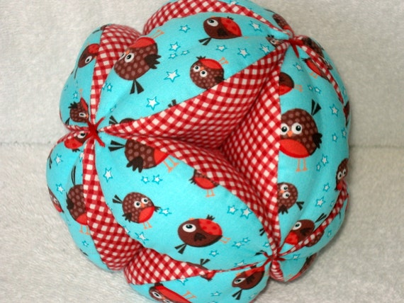 Round Robins Easy-Catch Baby/Toddler Clutch Ball