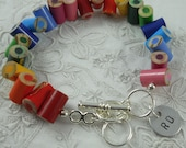 """Charm only - Add A Handstamped Personalized Disc - 1/2"""" round"""