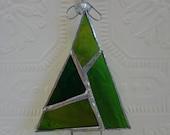 Abstract Green Christmas Tree2