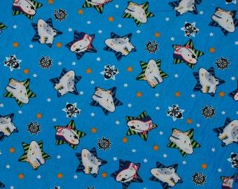 SALE! Sanrio Shinkansen Stars  FQ fabric