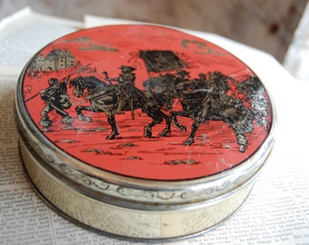 Vintage Tin, Knights in Shinning Armor